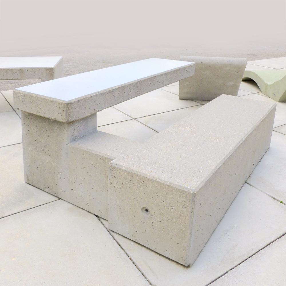 m bel aus beton sindel hochbau gmbh. Black Bedroom Furniture Sets. Home Design Ideas